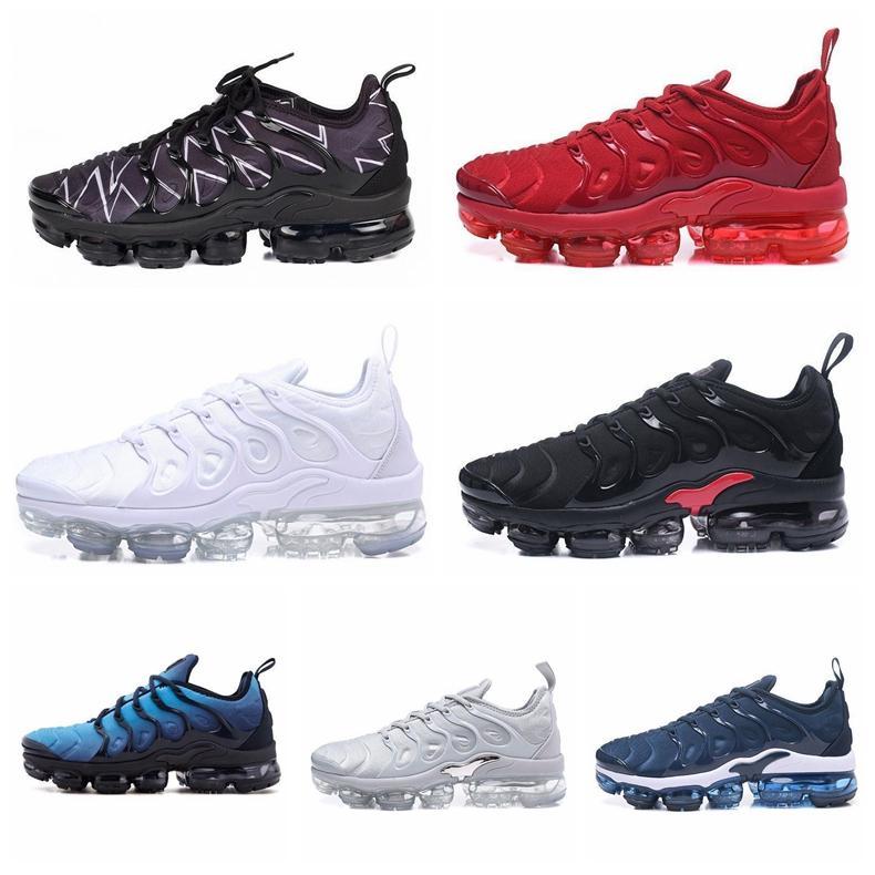 Yeni Geliş Gerçek Artı Tn Erkek Tasarımcı Ayakkabı Bordo Barely Grey Üzüm Moda Tasarımcısı Kadın Ayakkabı Hiper Mavi Sneakers Be