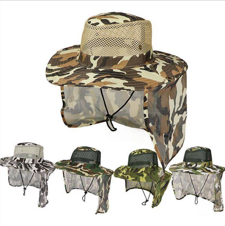 BOONIE Şapka Açık Kamuflaj Kapaklar Spor Yaprak Orman Askeri Kapak Balıkçılık Şapka Güneş Ekran Gazlı Bez Kovboy Paketlenebilir Ordu Kova Şapka DYP120