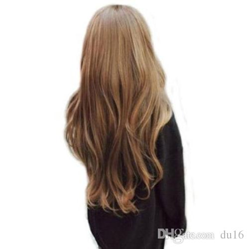 00577 free shipping ladies long Curly beautiful hair women's wave Cosplay full wig