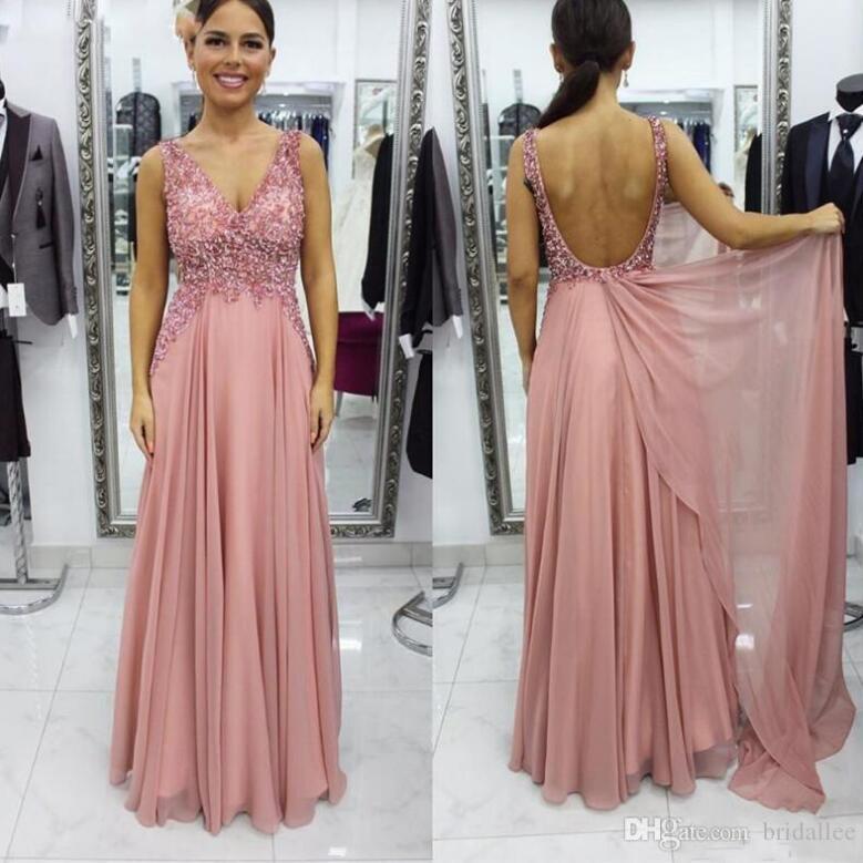 Sheath V-Neck Sleeveless Sequined Long Prom/Evening Dress