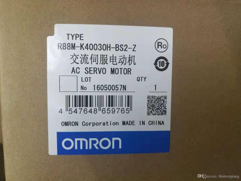 AC SERVO MOTOR OMRON R88M-K40030H-S2
