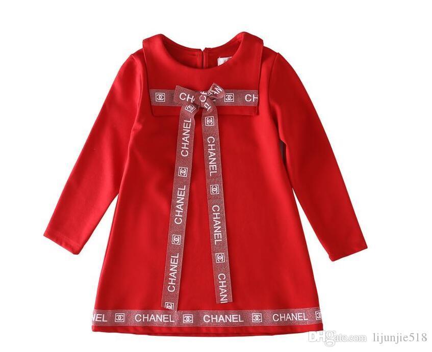 Autunno nuove ragazze grande plaid marca del vestito di fascia alta camicia a maniche lunghe abito ragazza carina maglione del bambino con cappuccio H7
