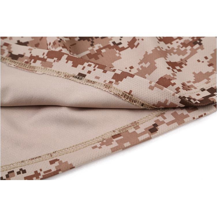 Neue Outdoor-Jagd Tarnung Männer Breath Armee taktischer Kampf-T-Shirt Militär Dry Sport Camo Camp Tees-Baum Tarnung