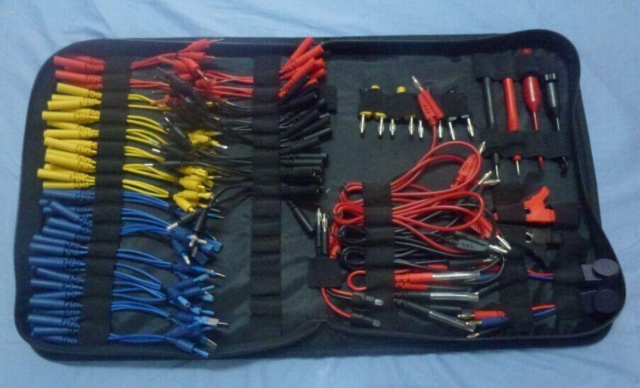 2018 Diaguato Car Diagnostic Cable Kit MST-08 Auto tester High Quality Automotive Multifunction 94 Pcs Lead Tools KIT One Set