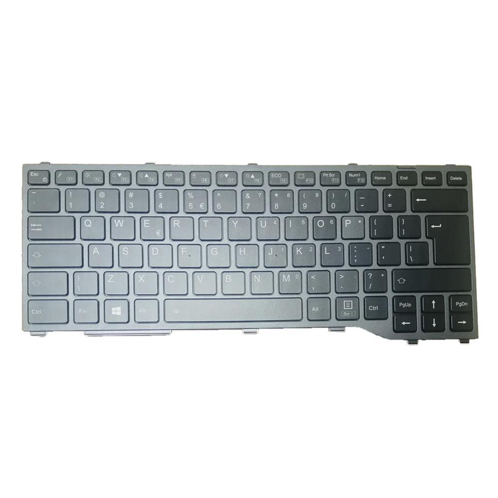 Fujitsu Siemens için İngilizce aydınlatmalı klavye