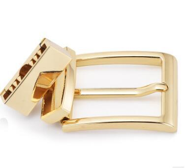 DIY الجلود الحرفية مشبك الذهب ذكر رئيس حزام الدورية دبوس مشبك حزام السراويل عكس دبوس الدورية agings 3.3CM