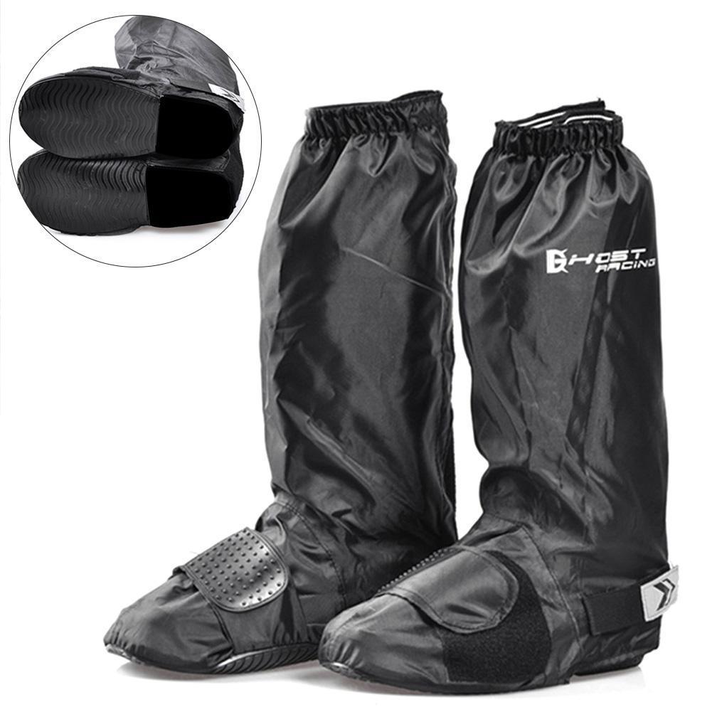Unisex Reusable Anti-slip Waterproof Shoes Cover Rain Boot Motorcycle Overshoe