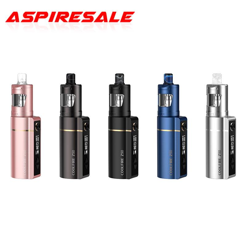 100% Authentic Innokin Coolfire Z50 Kit Built-in 2100mah Battery and 4ml Zlide Tank with All Z-Coils