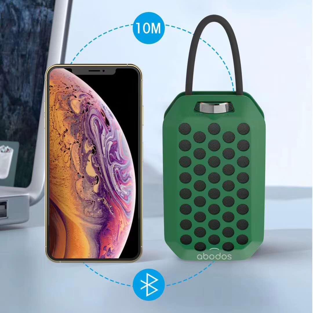 Sample Portable Bluetooth TWS Wireless Mini Speaker Microphone TF Card Aux-in Rich Bass Drop Shipping