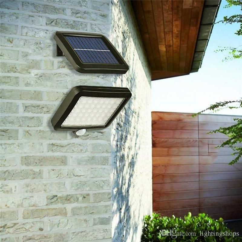 Solar Wall Light PIR Motion Sensor Solar Lamp 56 LED Security Emergency Street Solar Garden Light for Indoor or Outdoor