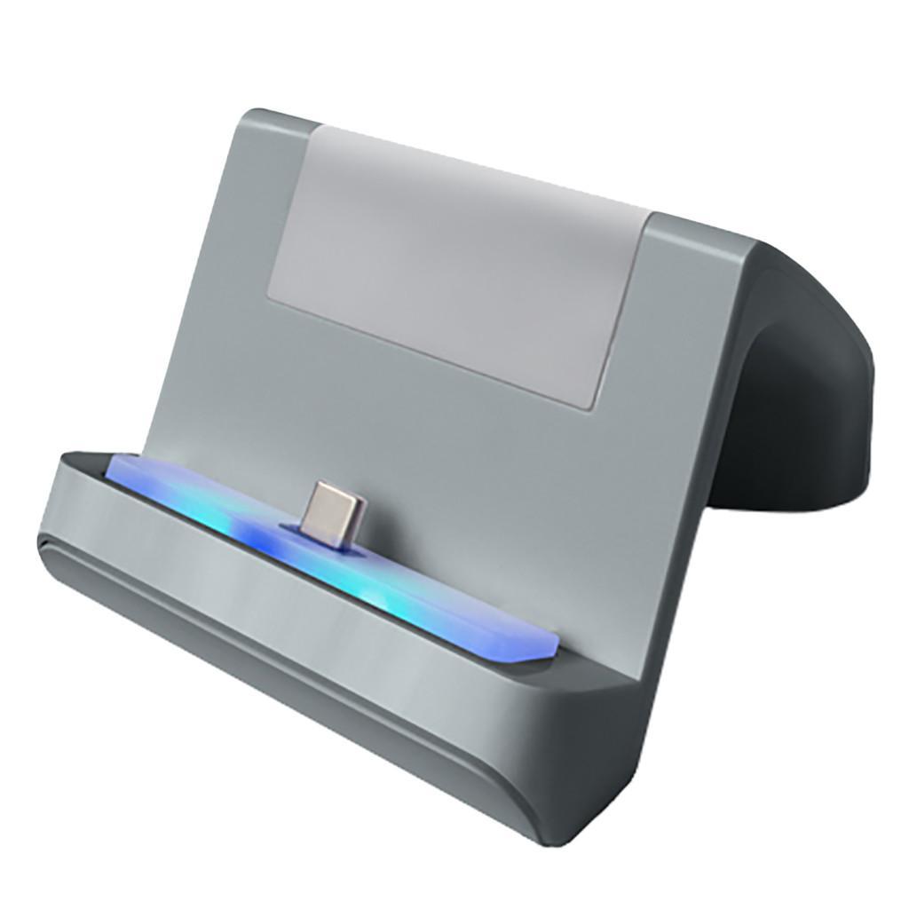 Для Nintendo переключения Lite консоли и контроллер зарядного стенда Регулируемое USB Type-C для зарядки Подставка для Nintend коммутатора 815 # 2