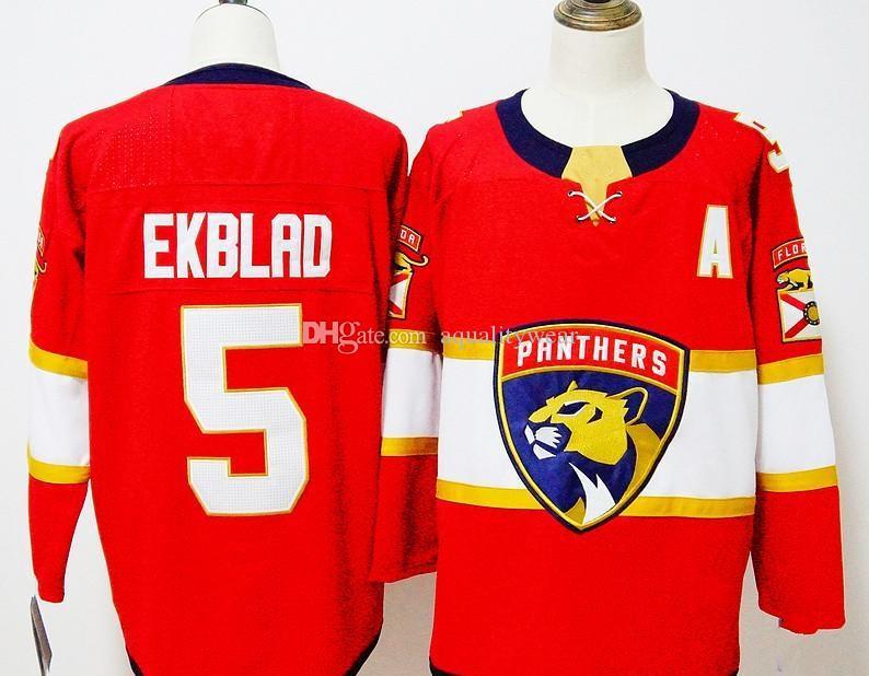 5c960ae7 ... Personalizado Florida Panthers camisa de hóquei feito especialmente  personalizado NENHUM número do nome dos homens das ...