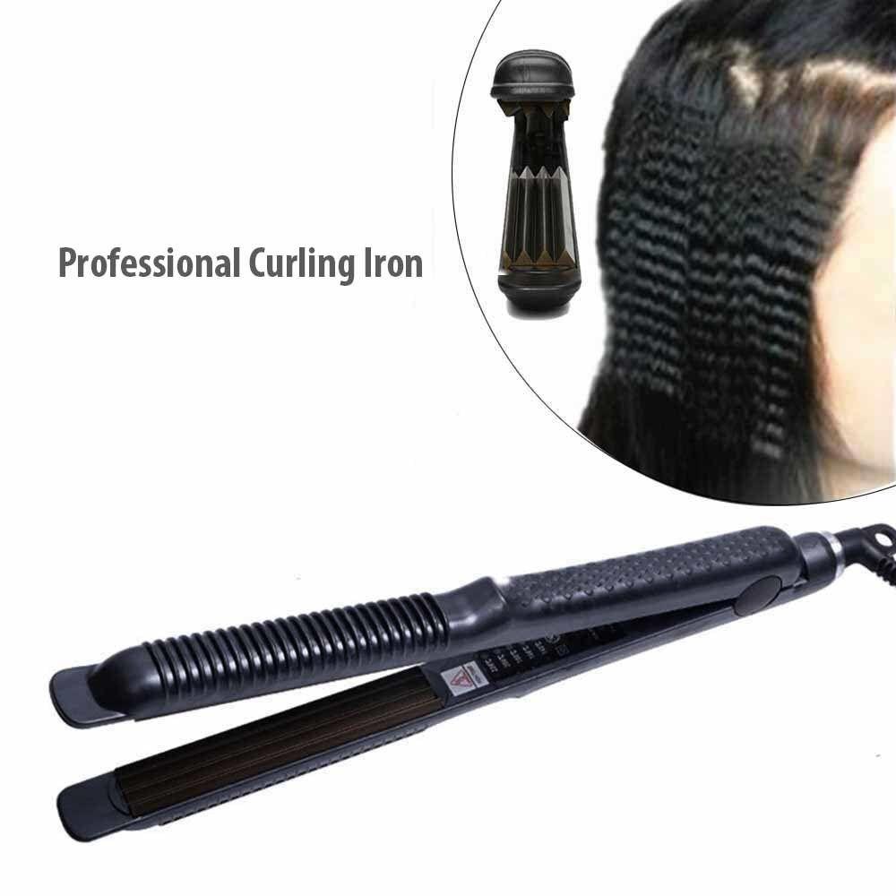 Professional Corrugated Hair Curler Corn Perm Splint Straightening Irons Tourmaline Ceramic Curling Iron Women Styling Tools