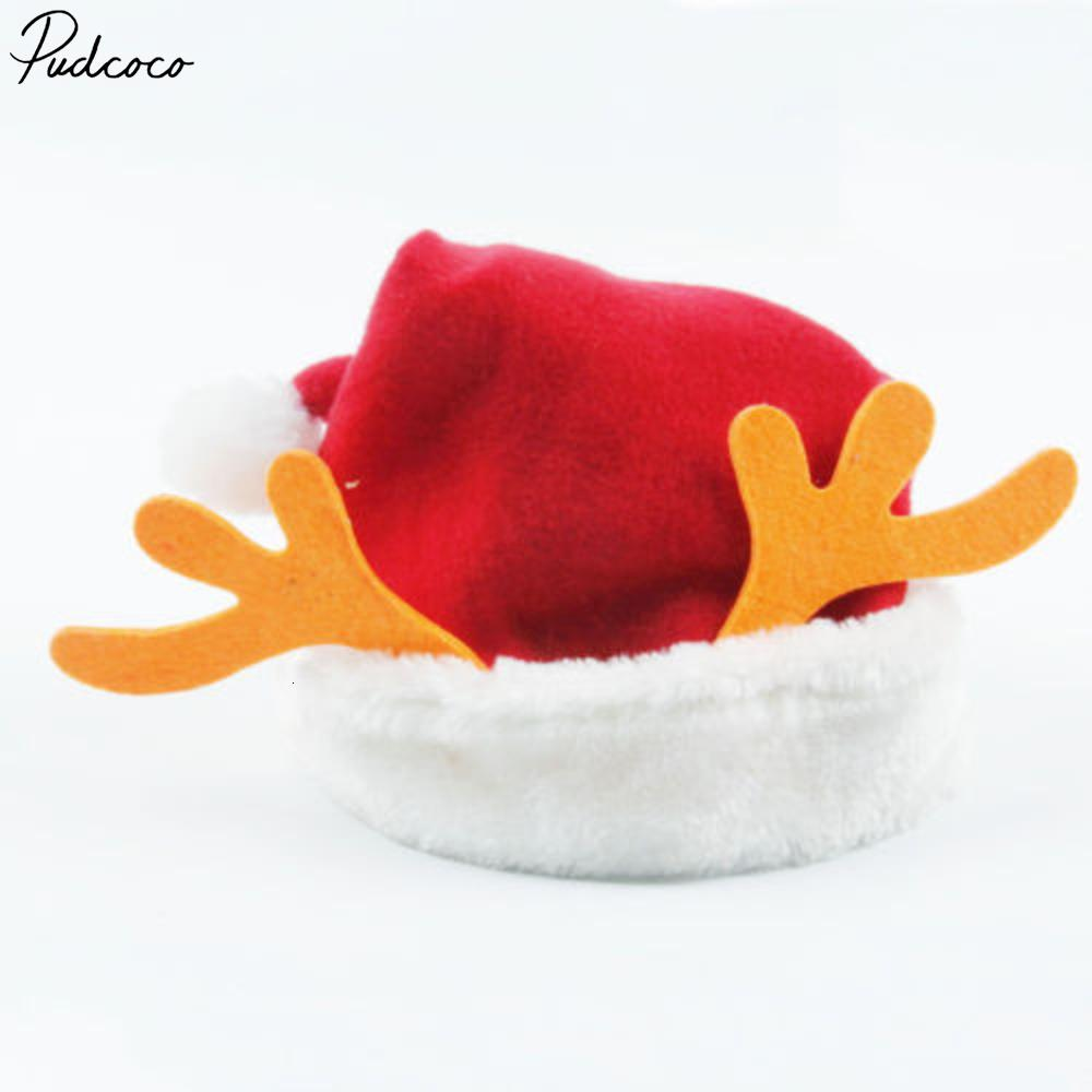 Infante sveglio Moda Cute Baby protezione dei capretti Antlers Chritmas Cappello Boy Girl