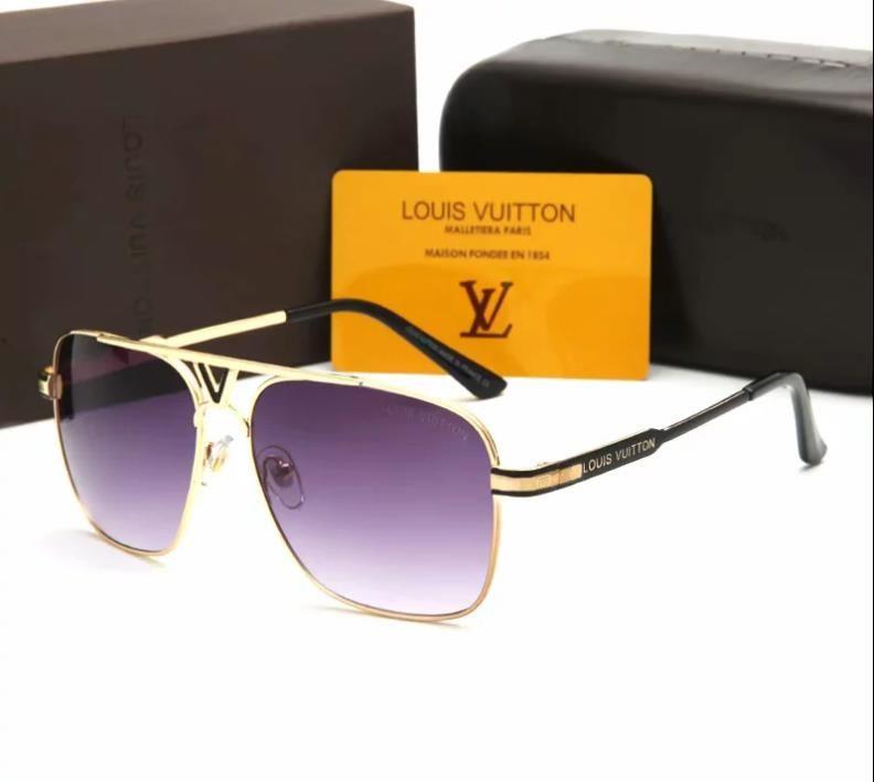 Top de lujo para mujer para hombre gafas de sol 70023 cuadrado grande marco gafas de sol Diseñador de conducción de abejas Gafas Gafas Envío Gratis