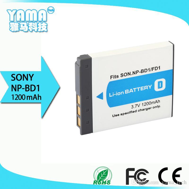 제조업체는 Sony NP-BD1 / NP-FD1 용 Sony 디지털 카메라 배터리를 직접 판매합니다.
