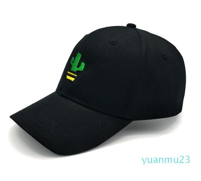 Ropa al por mayor de la gorra de béisbol-Hombres Mujeres Cactus algodón bordó el sombrero Headwear deportes al aire libre con el encierro trasero ajustable