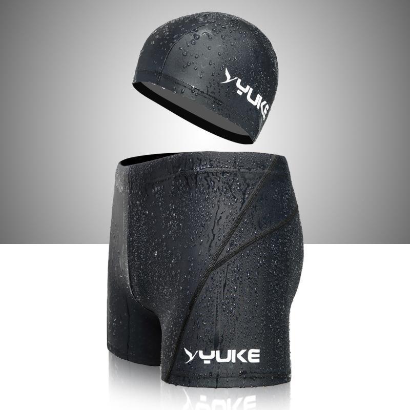 Plaj Beachwear Yüzme Pantolon Erkek'S Mayo Spor Siyah Polyester Moda Çocuk Rahat Bikini Yumuşak