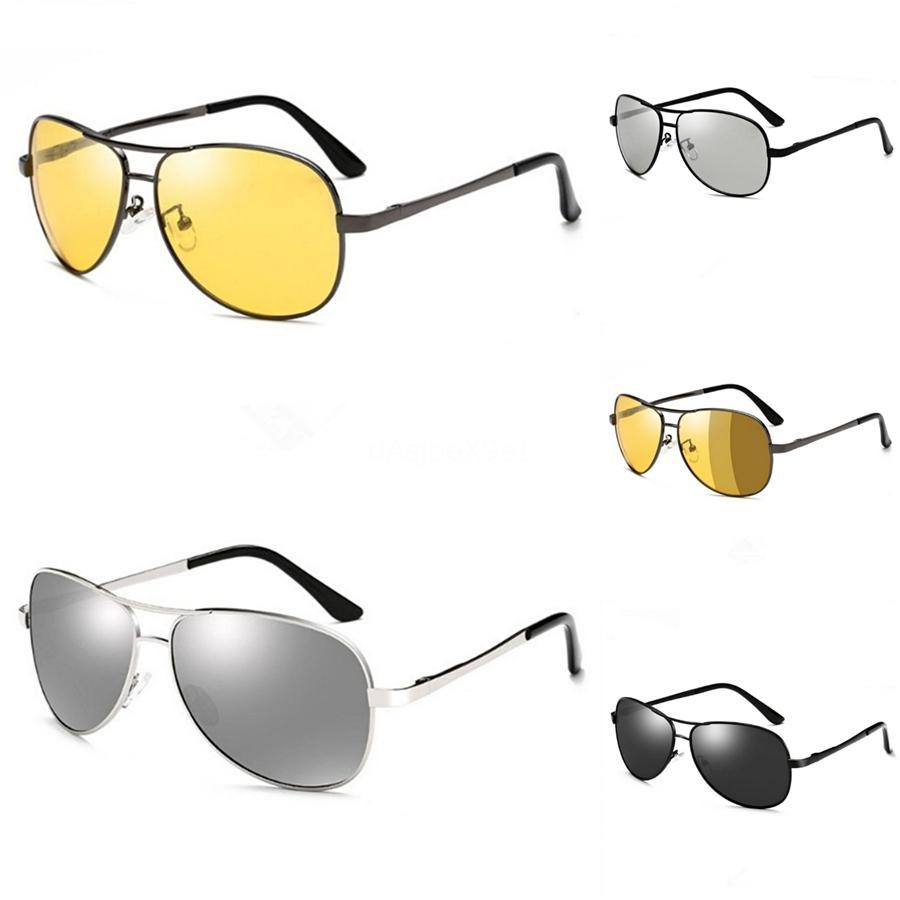 الجملة 2020 عدسات للجنسين هد الأصفر سائق جوجل نظارات نظارات للرؤية الليلية لتعليم قيادة السيارات نظارات شمسية الأشعة فوق البنفسجية حماية # 27958