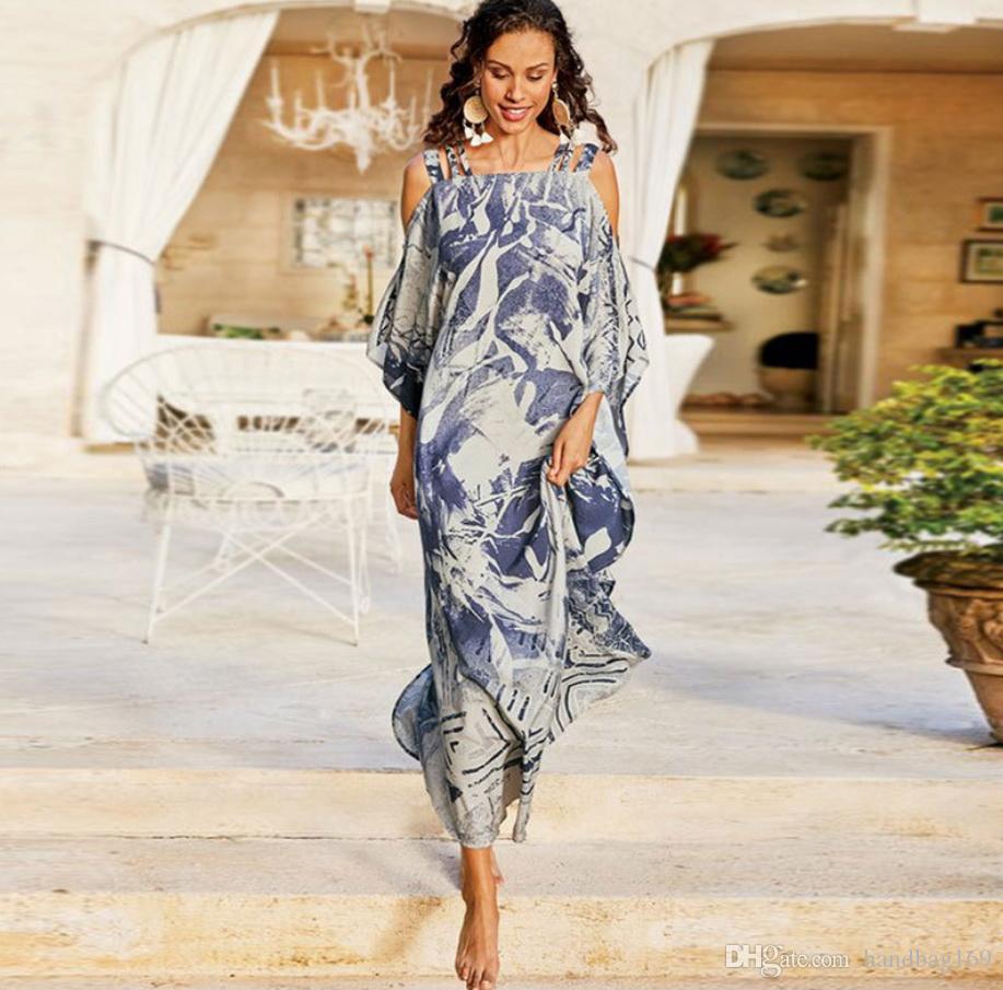 NEW 2020 Мода сексуальная женщина платье сексуальный печати платья без рукавов плюс размер платья лета трусиков длинное платье
