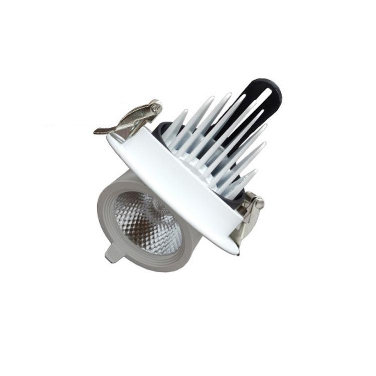 LED Spot Light Embedded Plafing Lampada da soffitto Cob Elephant Trunk Lamp Living Room Aisle Abbigliamento Shop Bull Eye Eye Nordic Deco Fixtures