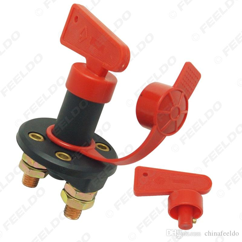 2 Keys /& Waterproof LM Battery Isolator Cut Off Power Kill Switch 100A 12v