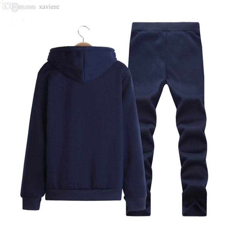 Fashion--Men jogger set fashion mens hoodies and sweatshirts outdoor mans sportswear chandal hombre casual sudaderas hombre jogging suits