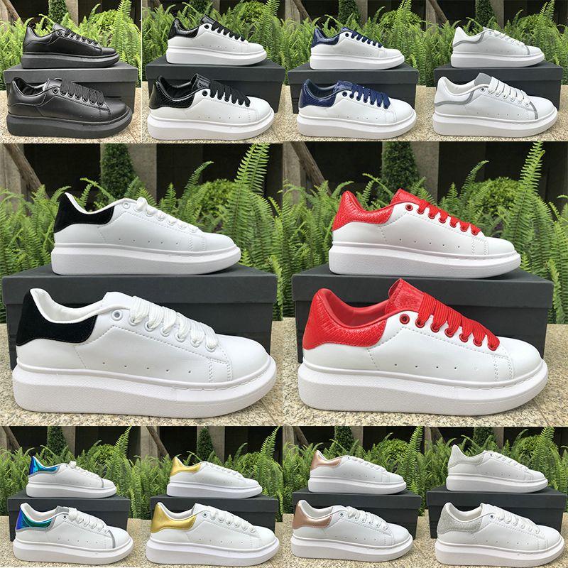 2020 de alta qualidade ouro reflexivo preto de veludo verde Triplo Grey Black mens sapatos casuais mulheres moda estilista Sneakers treinador EUR 36-44