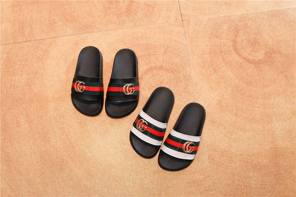 Высокое качество дизайна детских сандалий девочек родитель-ребенок детские пляжные тапочки мальчики мода удобная нескользящая белая низкая цена для продажи