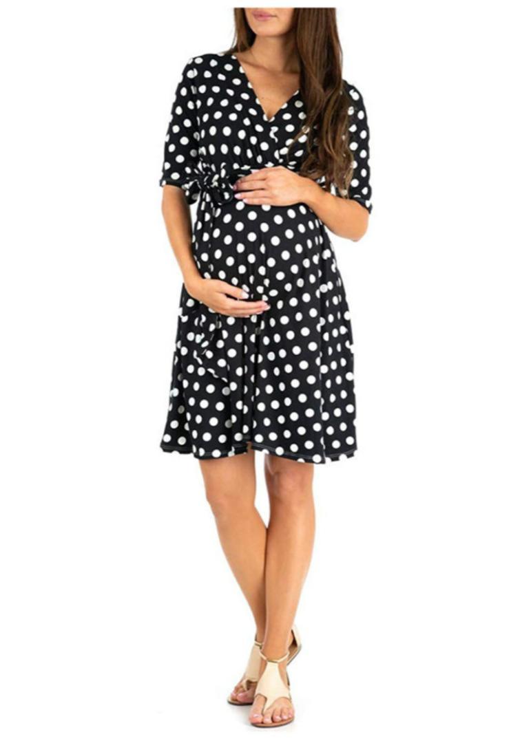 2021 Fashion Maternity Dresses Pregnancy Clothes Pregnant Dress Women Infants Short Sleeve Vestidos Pregnancy Dress Photography From Namenew 14 16 Dhgate Com