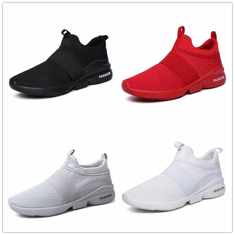 2019 40 46 Nouveau S respirante Mesh Courir Grande taille Sports de plein air Chaussures Hommes - Chaussures