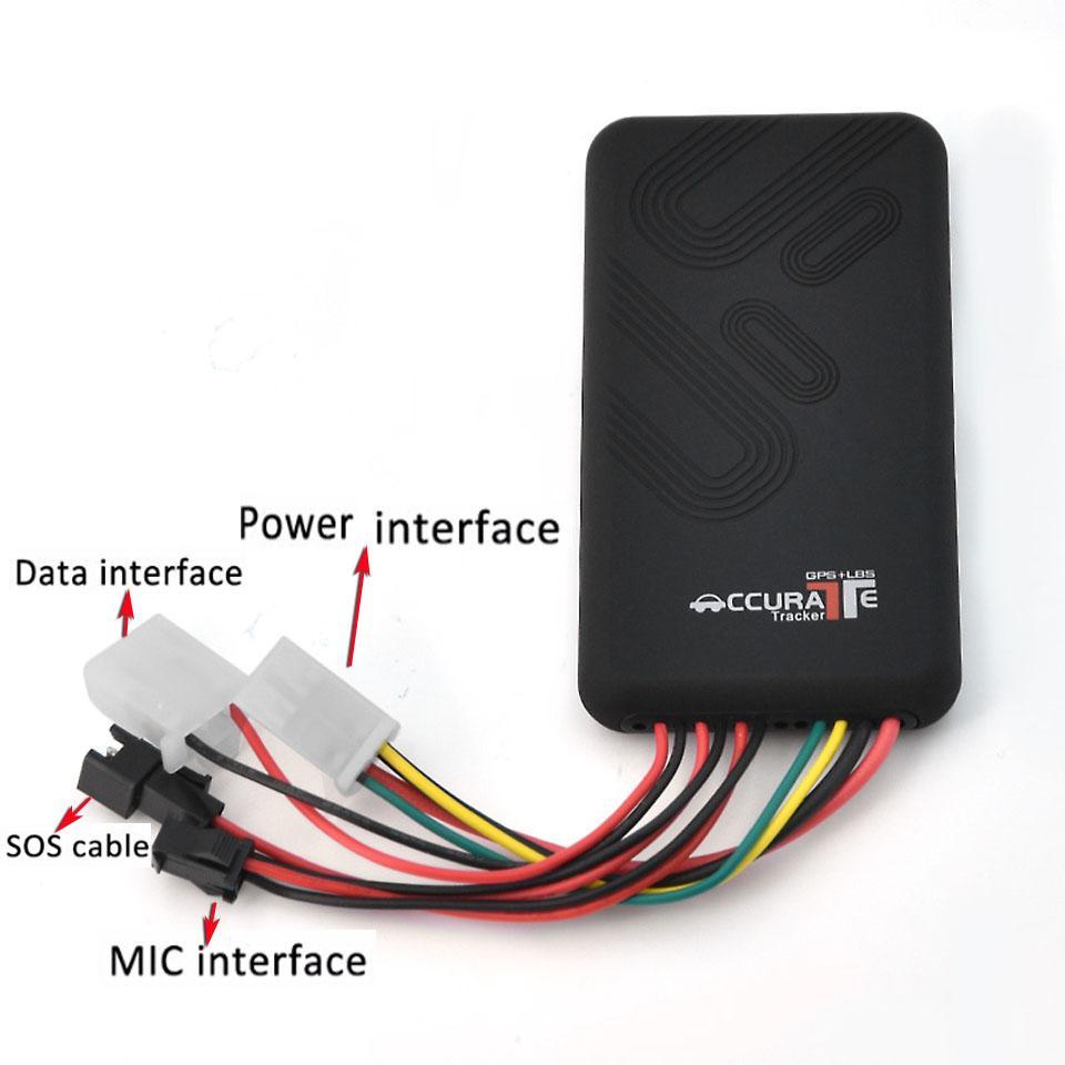 GT06 GPS vehículo Tracker tiempo real global quad-bandas GSM GPRS rastreador localizador SOS PC Alarm sistema de seguimiento de GT06