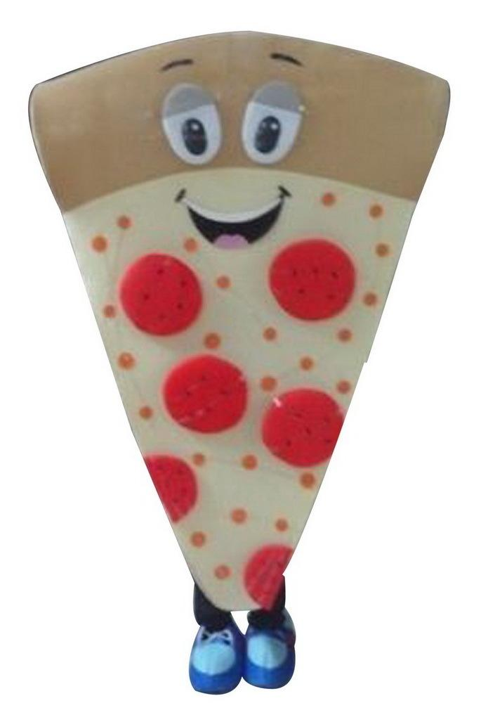 Pizza Mascot Character trajes dos desenhos animados Adulto Sz 100% real Picture66