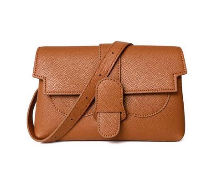 Women HOT SALE The Multiple Ways Convertible Belt Bag Genuine Leather Sing Crossbody Purse For Girls