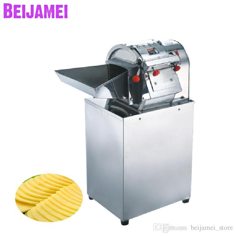 Machine de découpe de légumes de Beijamei Pommes de terre commerciale Coupe-schicer / Machines de tranches de pomme de terre industrielles
