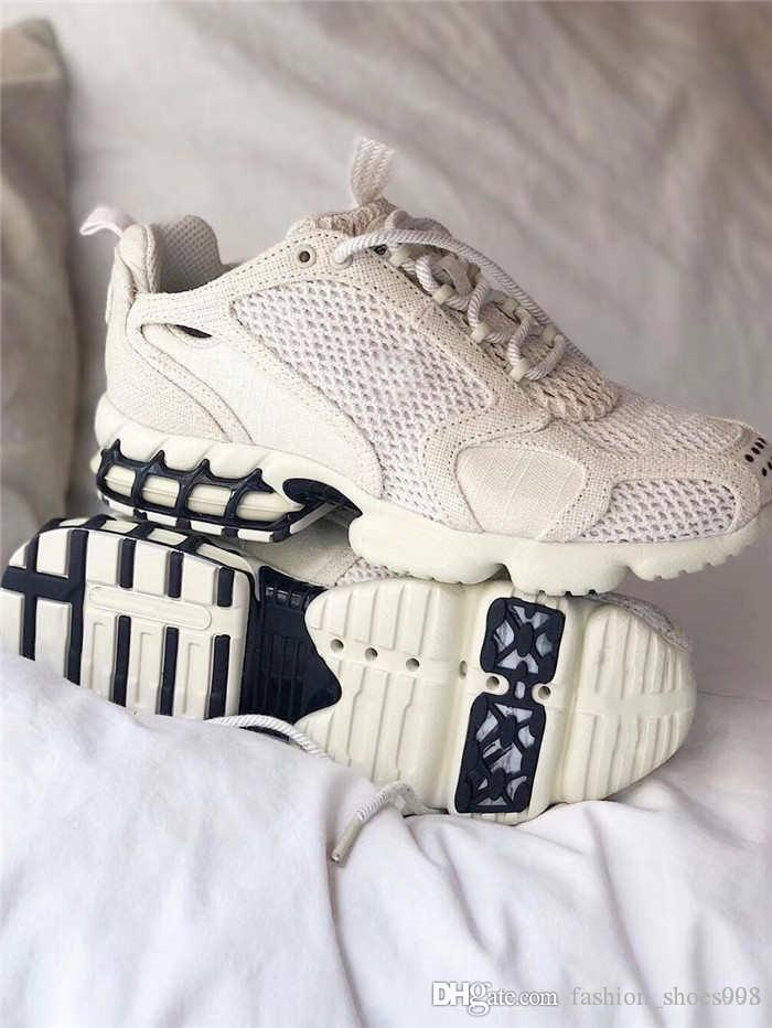 Couples linge de coton respirant et maille cuir épissage chaussures de sport occasionnels résistant à l'usure antidérapants et non avec des semelles épaisses boîte 36-45