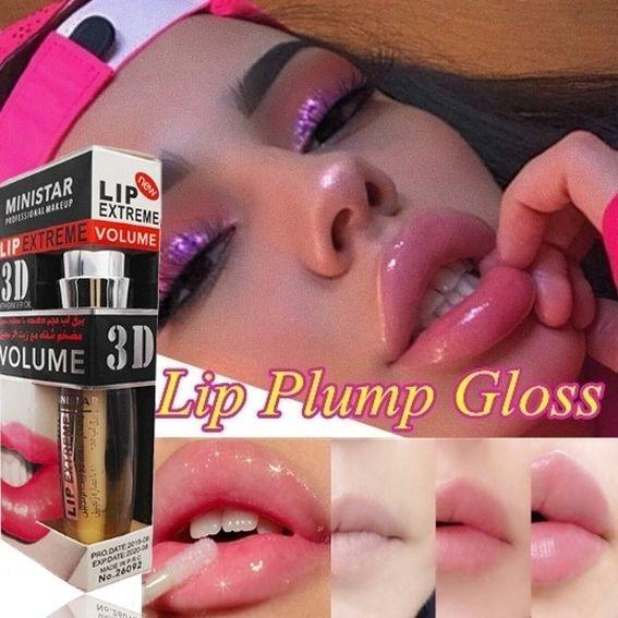 3D Super Volume Plump it Lip Gloss 2019 Moisturizer Shiny Liquid Lipstick Long Lasting Lip Sense Korean Cosmetic Japanese bea122