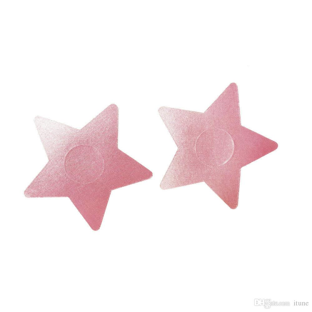 DNC-012 Большой 8,2 см в форме звезды Безопасная грудь Соски для защиты сосков покрывают наклейку сиськи