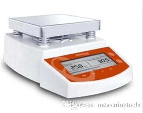 Dijital Termostatik Sıcak Plaka Manyetik Karıştırıcı Mikser MS400 Dijital Ekran Sıcaklığı Manyetik Karıştırıcı