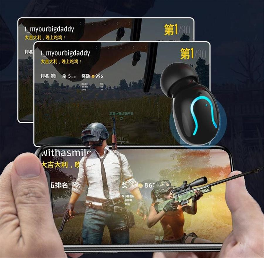 F9-8 Bluetooth 5.0 Tws Earphone Headset Wireless Earphones Battery Display Touch Control Mini Earbuds Stereo Gamer Headphones #OU429