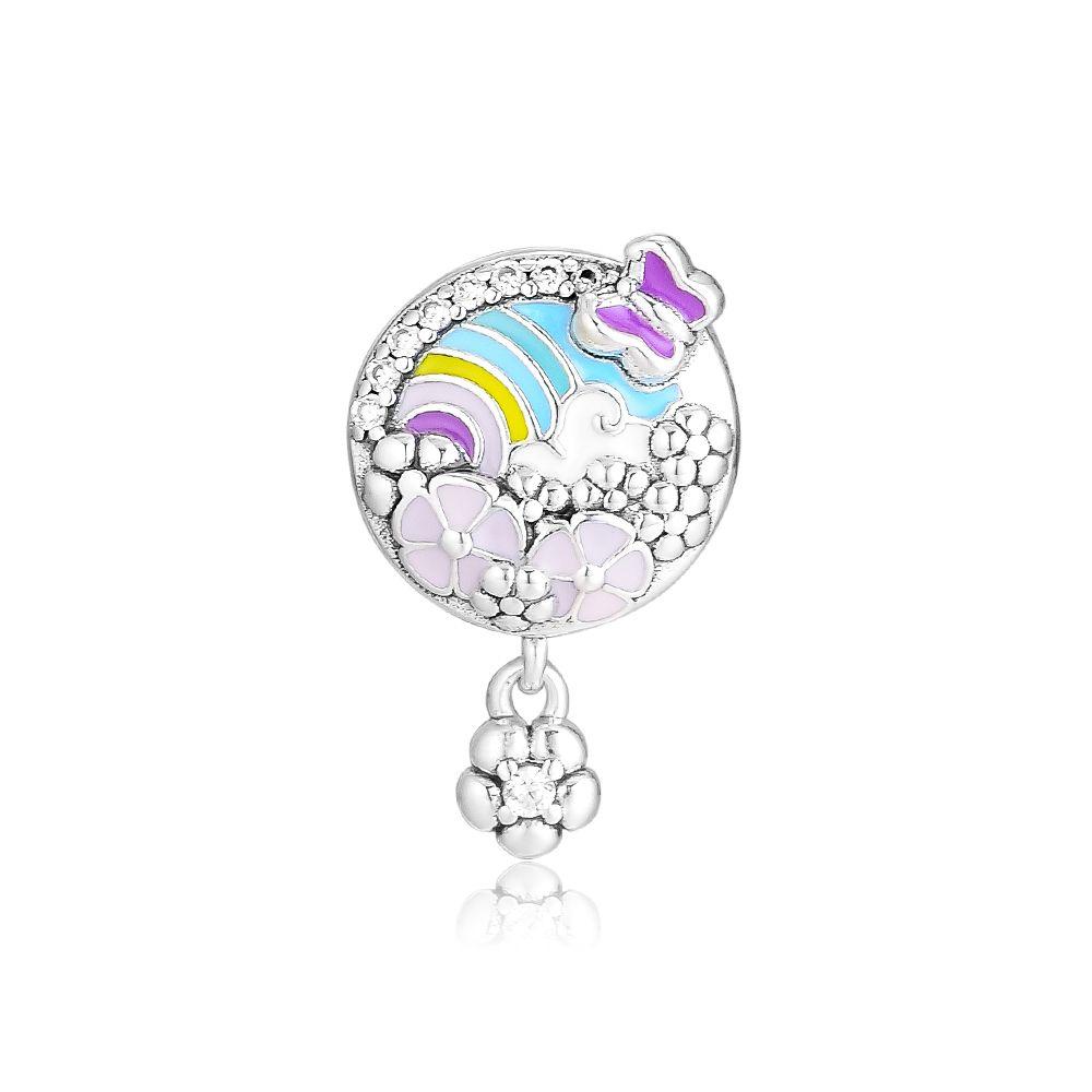 2019 primavera 925 gioielli in argento sterling storia del fiore storia di fascino perline adatto pandora bracciali collana per le donne fai da te fare