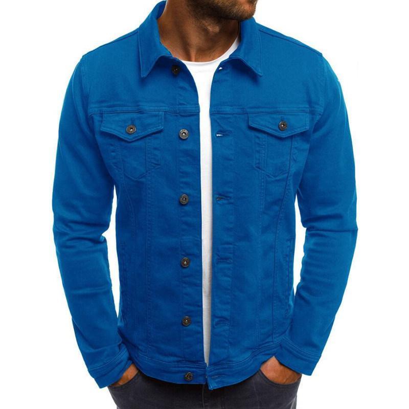 Moda Yeni Erkek Dış Giyim Palto Rahat Yüksek Kalite Erkek ceketler Erkekler Coats Çoklu Renk Boyut M-3XL
