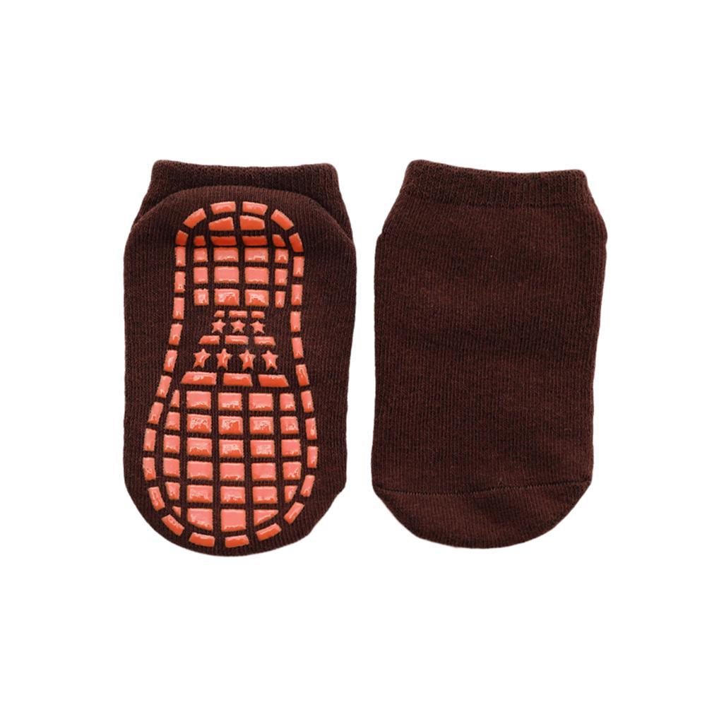 Outono / Inverno / Primavera / Verão fina e respirável antiderrapante Piso Socks Boy e toalha menina Meias Início Meias algodão doce Cor Fluf
