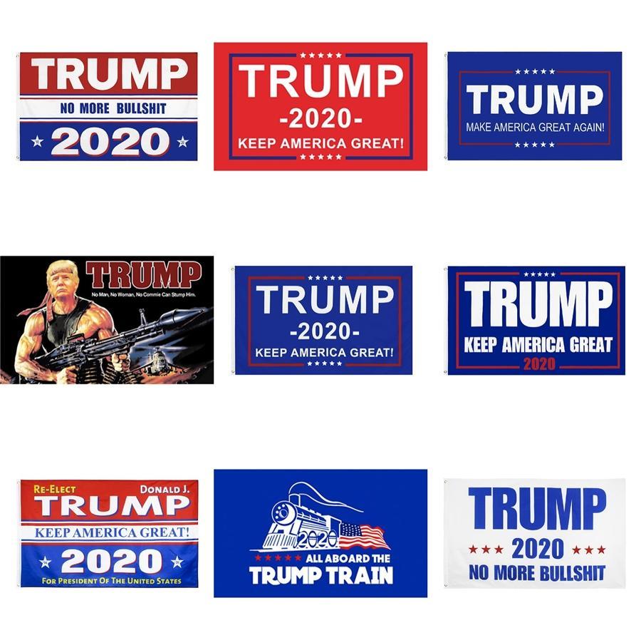 Abd Trump Rüzgar Bayrakları 4 Styles Amerikan Ulusal Bayrak Çizgili Bahçe Dekorasyon Banner Bayraklar 20 1PCS Ljjo7929 # 152