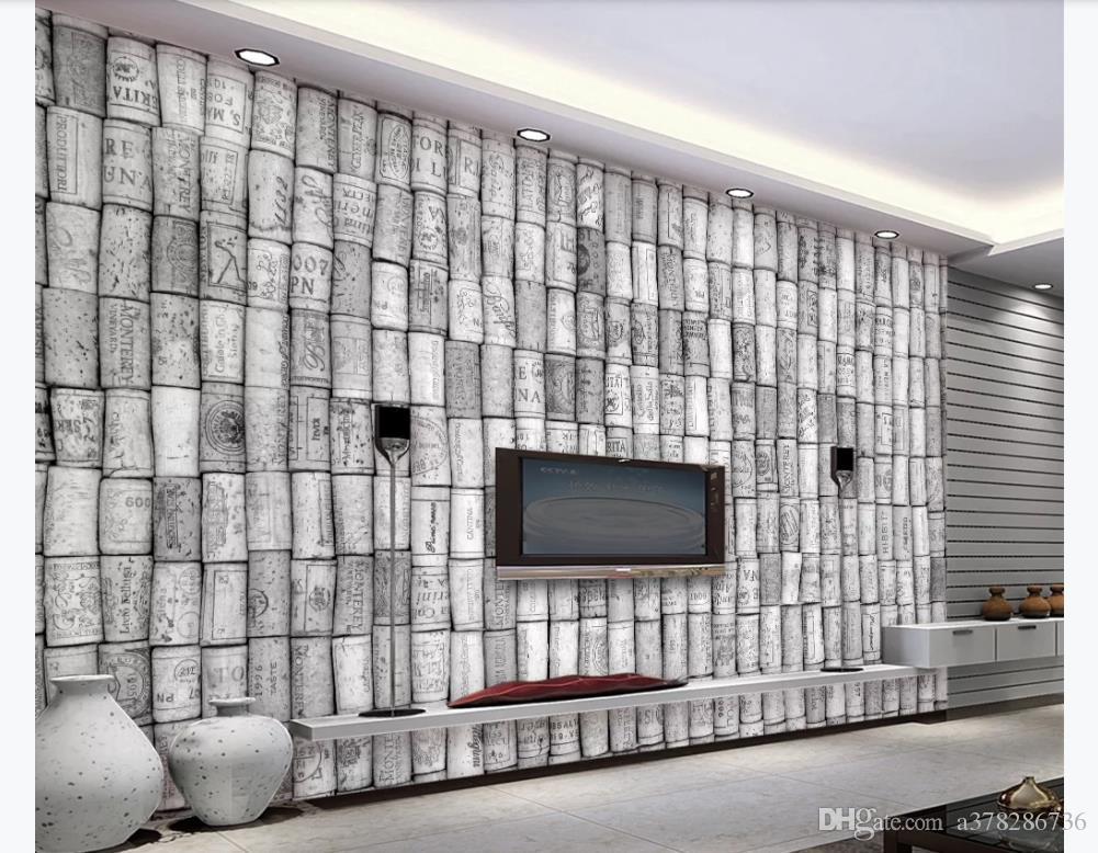 3D индивидуальные большие фотообои обои Мода европейский и американский стиль книги 3D ТВ фон росписи украшения Обои для стен 3d