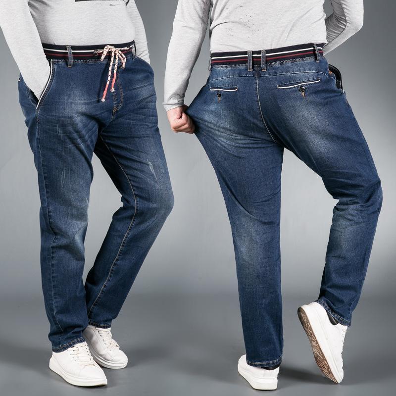 Automne / Hiver épaissit grande taille de jeans pour hommes
