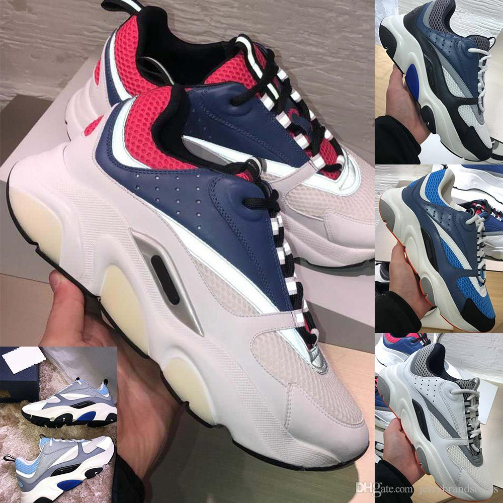 mens 2020 superiore di design di lusso scarpe da ginnastica homme tecnologia maglia e scarpe in pelle di vitello di design scarpa da tennis per gli uomini donne