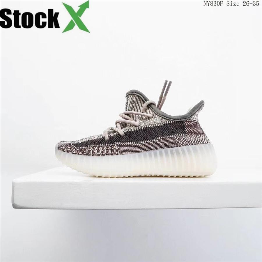 Zapatos para niños Wave Runner 7 0 0 Kanye West zapatos corrientes de la muchacha del muchacho instructor zapatilla de deporte de los niños atléticos Shoesker Zapato del deporte Los niños atléticos Sh # 925