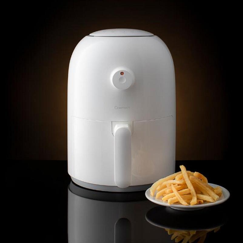 Xiaomiyoupin Onemoon Hava Fryer 2L 800W Ev Akıllı Yok Duman Yüksek Kapasiteli Elektrikli Fritöz Patates Kızartması Makinası