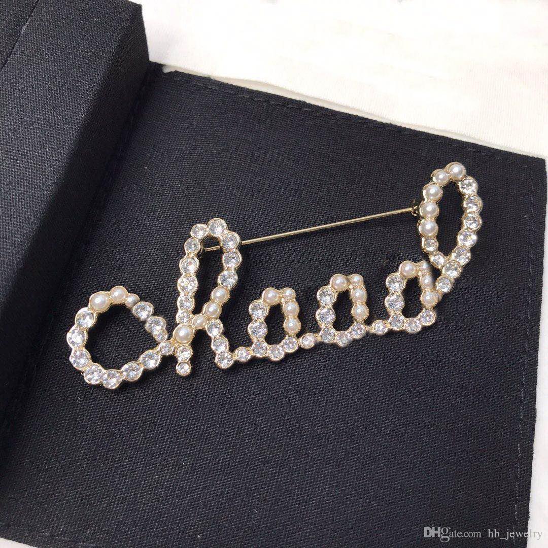 신부 BOX에 대한 여성 여성 파티 결혼식 애호가 선물 약혼 고급 보석 패션 브랜드 유무 우표 디자이너 핀 브로치